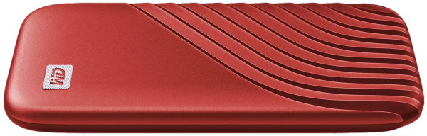 WD SSD My Passport Red